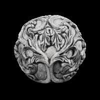 Декоративный шар Orbit серого цвета