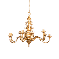 Люстра Areole золотого цвета