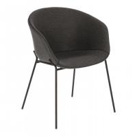 Стул кресло Zadine Dark Grey темно серого цвета