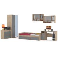 Набор мебели доминика в молодёжную комнату