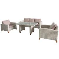 Обеденный комплект мебели Minerva на ножках