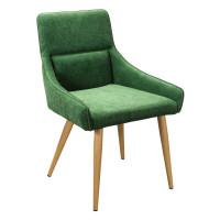 Кресло Jean грин натур с обивкой из зеленой