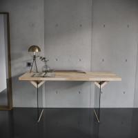 Рабочий стол Ecocomb 4  эмаль белая