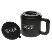 Paw Plunger Лапомойка для собак (чёрный цвет) средняя