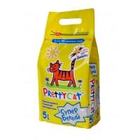 PrettyCat Супер Белый комкующийся наполнитель с ароматом