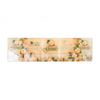 Gentle Бумажные трехслойные платочки с ароматом Европы