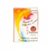 Maneki Платочки бумажные Sumi e, с ароматом