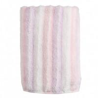 Lish Полотенце для лица розовое, 34х80 см,