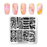 Художественные шаблоны для дизайна ногтей