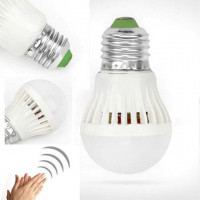 Светодиодная лампа E27 3 12W 220V звук