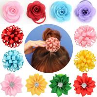 Девушки цветочные аксессуары для волос Baby очаровательная
