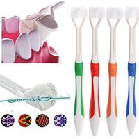 Дети взрослые специальности 3 сторонняя Зубной щётки