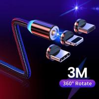 3m Магнитный Micro USB Кабель для iPhone