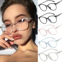 Винтажные защитные очки с прозрачными линзами