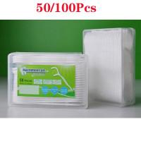50/100x Стоматологическая нить Зубная устная межзубная щетка