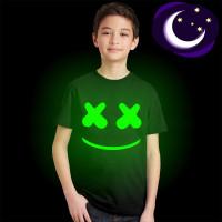 Marshmello Короткие рукава футболки для мальчиков