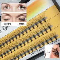 Пучки накладных ресниц из искусственных волос