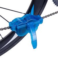 Прибор для очистки велосипедной цепи. Синий