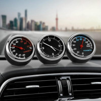 Мини автомобиль Автомобильный цифровой будильник авто смотреть
