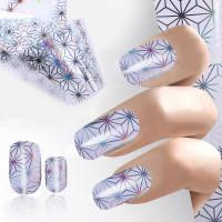 12 Виды Дизайн ногтей искусство фольги наклейки