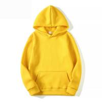 Мужской пустой свитер чистого цвета флисового свитера
