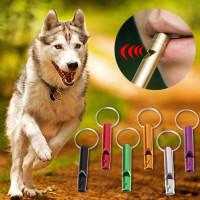 Свисток для тренировки собак,алюминиевый сплав,4,6 см.