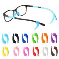 1 Пара Силиконовые очки Анти скид рукава