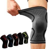 Наколенник для коленного сустава, цвета: черный, красный,