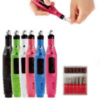 6 цветов аппарата для маникюра электрические ногтей