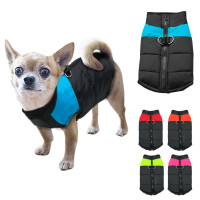 Модные водонепроницаемые собаку одежду зимние