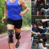 Наколенник защищать фитнес работает Велоспорт брекеты Упругие