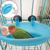 Ванна с зеркалом для попугая