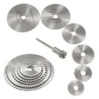7Pcs/Set HSS вращающихся инструментов пильный диск режущие