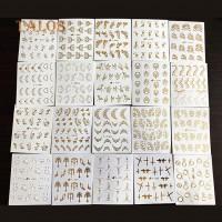 Наклейки для дизайна ногтей, 30 листов. Размер
