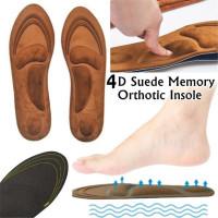 Толстые ортопедические стельки с эффектом памяти рельефа