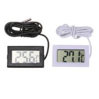 Водонепроницаемый электронный цифровой LCD Pet аквариум термометр