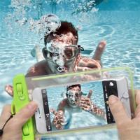 Светящиеся телефон водонепроницаемый чехол для всех размеров