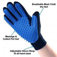 Перчатка с силиконовой щёткой для мытья