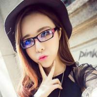 Женщины Мода Анти Усталость Винтаж Spectacles Пластиковые