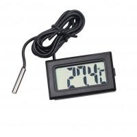 1шт мини LCD автомобиля цифровой термометр гигрометр