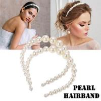 Перл Headband Hairband Невеста Свадебные блоггеры Аксессуар