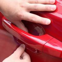 4pcs автомобилей дверь ручку царапинам пленка автомобиль