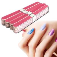 40pcs пилка для ногтей маникюр педикюр буфера