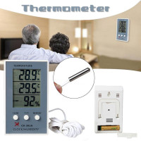 Цифровые крытый наружной температуры термометр гигрометр