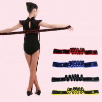 Профессиональный гимнастика взрослых девушка Латинской полос резинкой