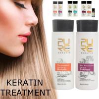 Лечебный шампунь для повреждённых волос с кератином