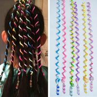 Цветные спиральные заколки для волос с эффектом