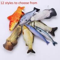 Креативные 3D Карп рыба форма кошка игрушка