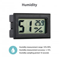 Беспроводной Lcd цифровой термометр Гигрометр номер
