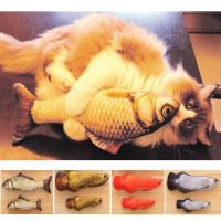 3D игрушка в виде рыбы для котов